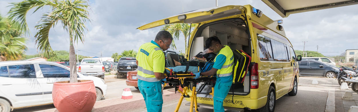 Ambulancepersoneel Bonaire